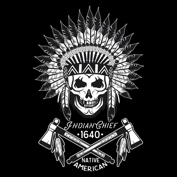 NeatoShop: Indian Skull with Axes