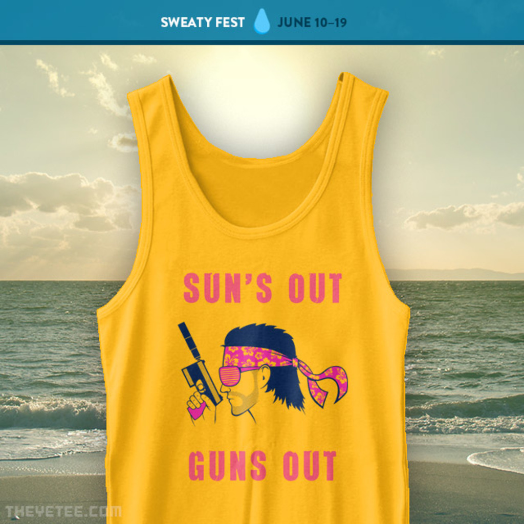 The Yetee: Summer of Snake Tank Top