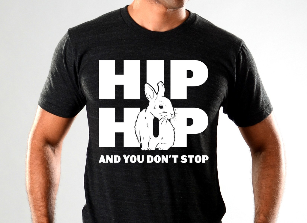 SnorgTees: Hip Hop And You Don't Stop Limited Edition Tri-Blend