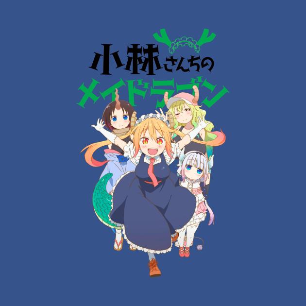 TeePublic: Miss Kobayashi's Dragon Maid