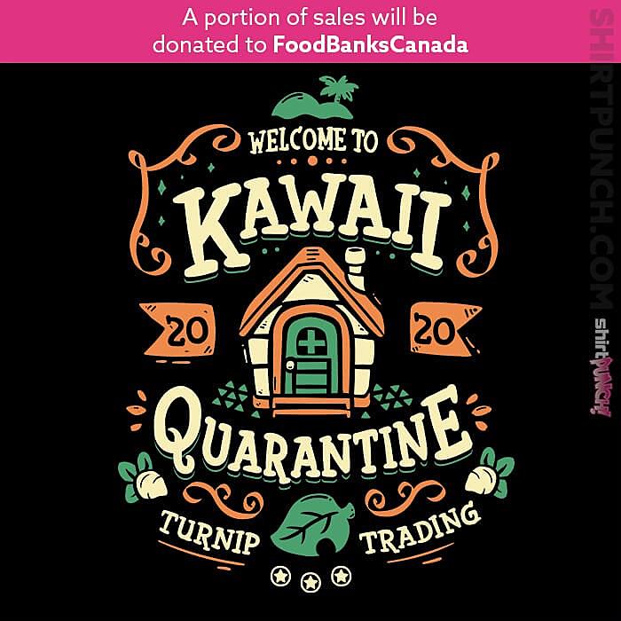 ShirtPunch: Kawaii Quarantine