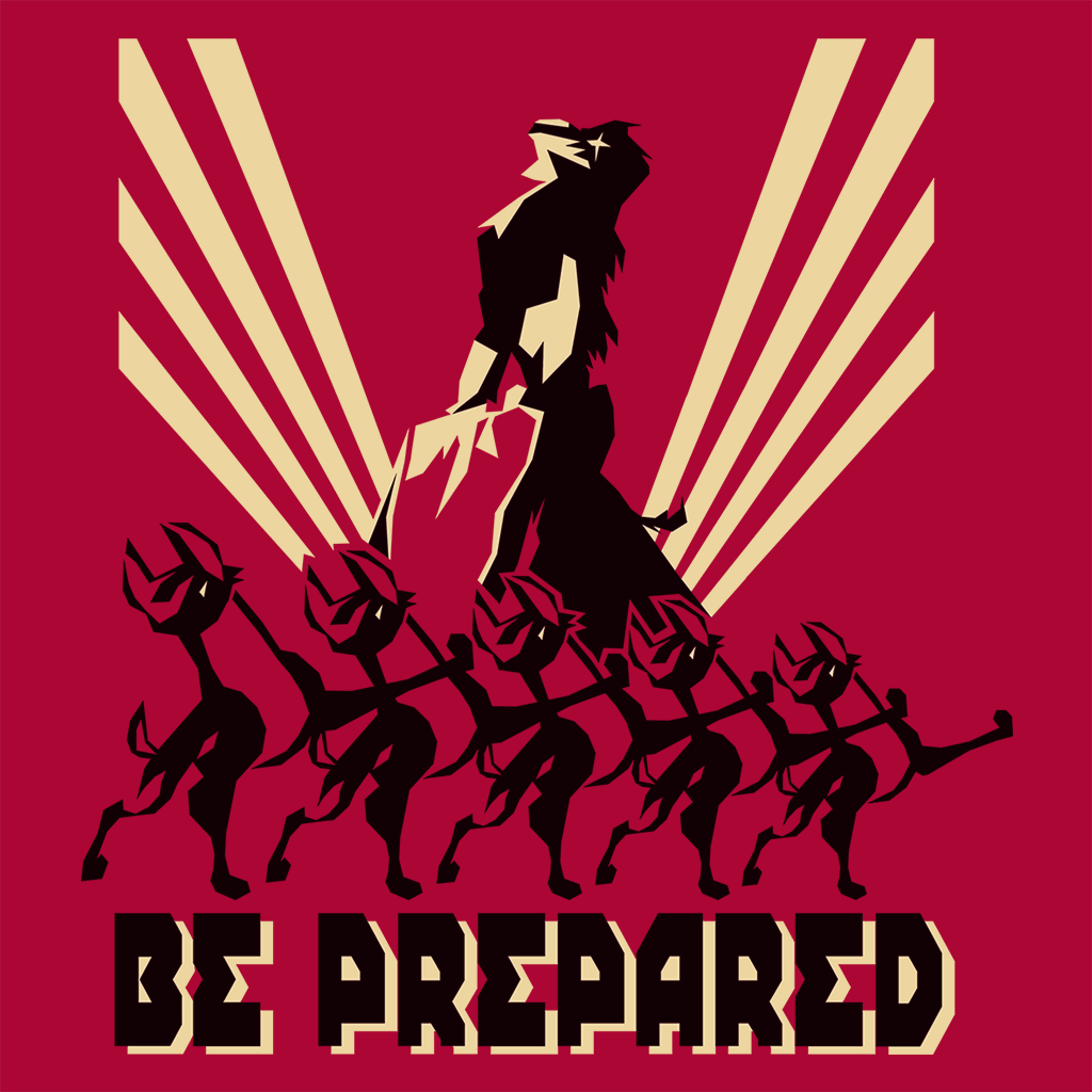 Pop-Up Tee: Be Prepared