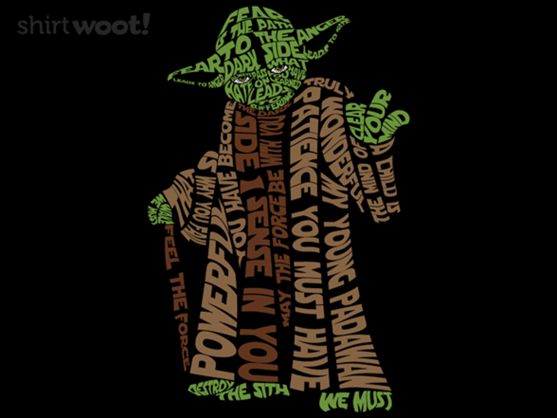 Woot!: Master Yoda