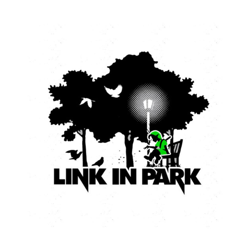 """TeePublic: Link In Park - """"The Legend of Zelda"""" T-Shirt"""