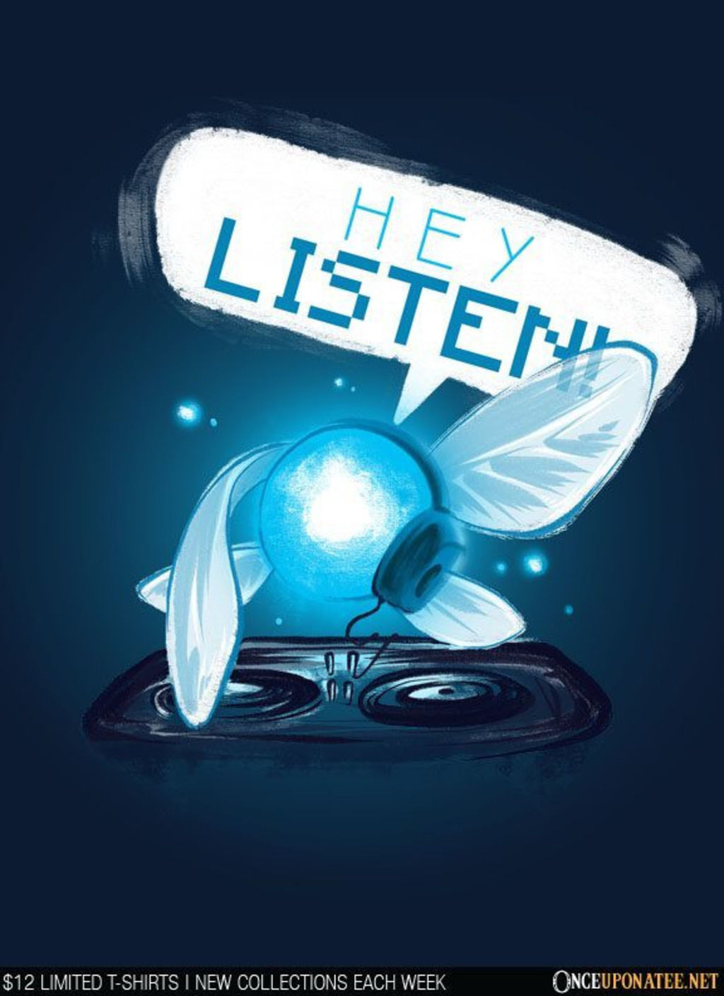 Once Upon a Tee: Hey Listen
