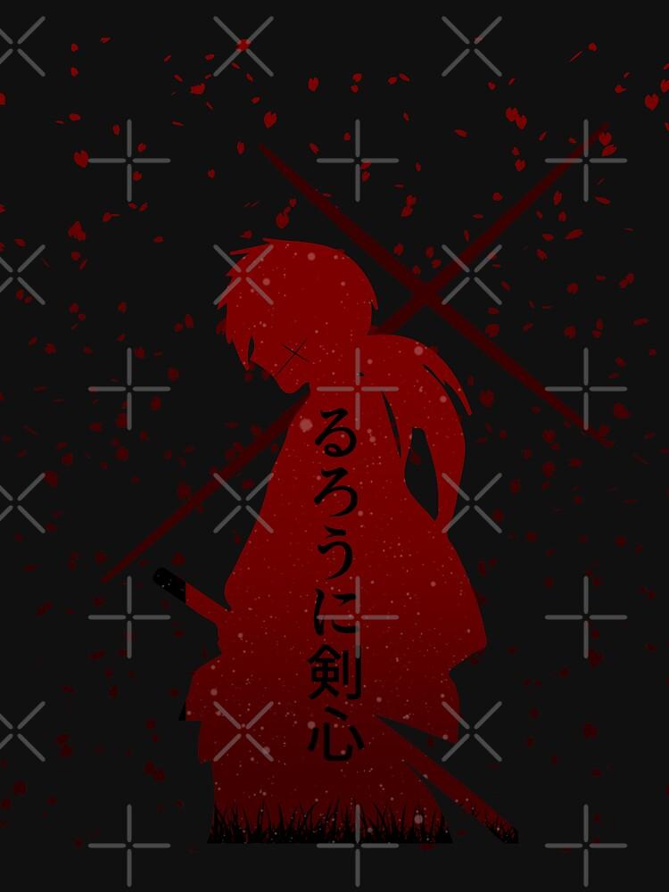 RedBubble: Rurouni Kenshin Samurai X Anime Battousai