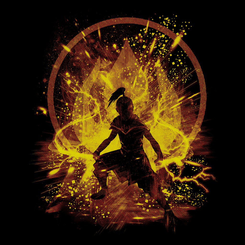 Pop-Up Tee: Fire Storm