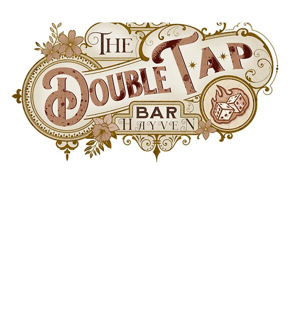 RedBubble: The Double Tap Bar
