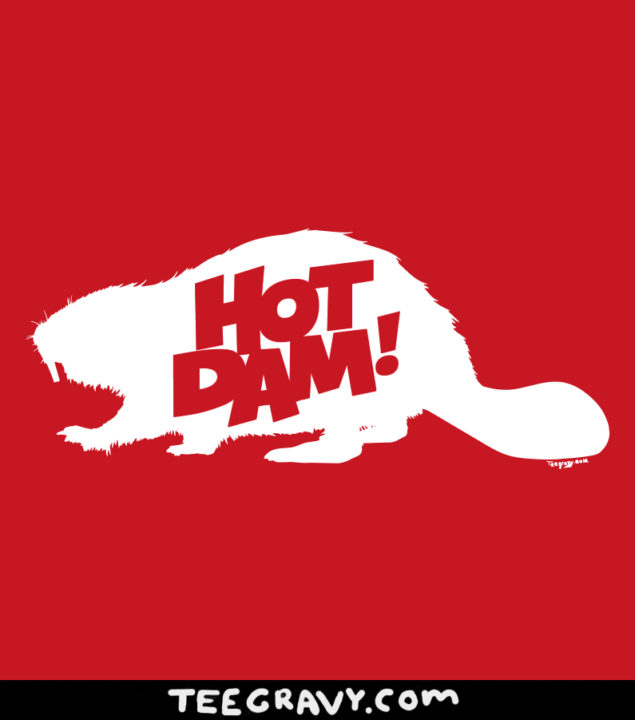 Tee Gravy: Hot Dam for A Day