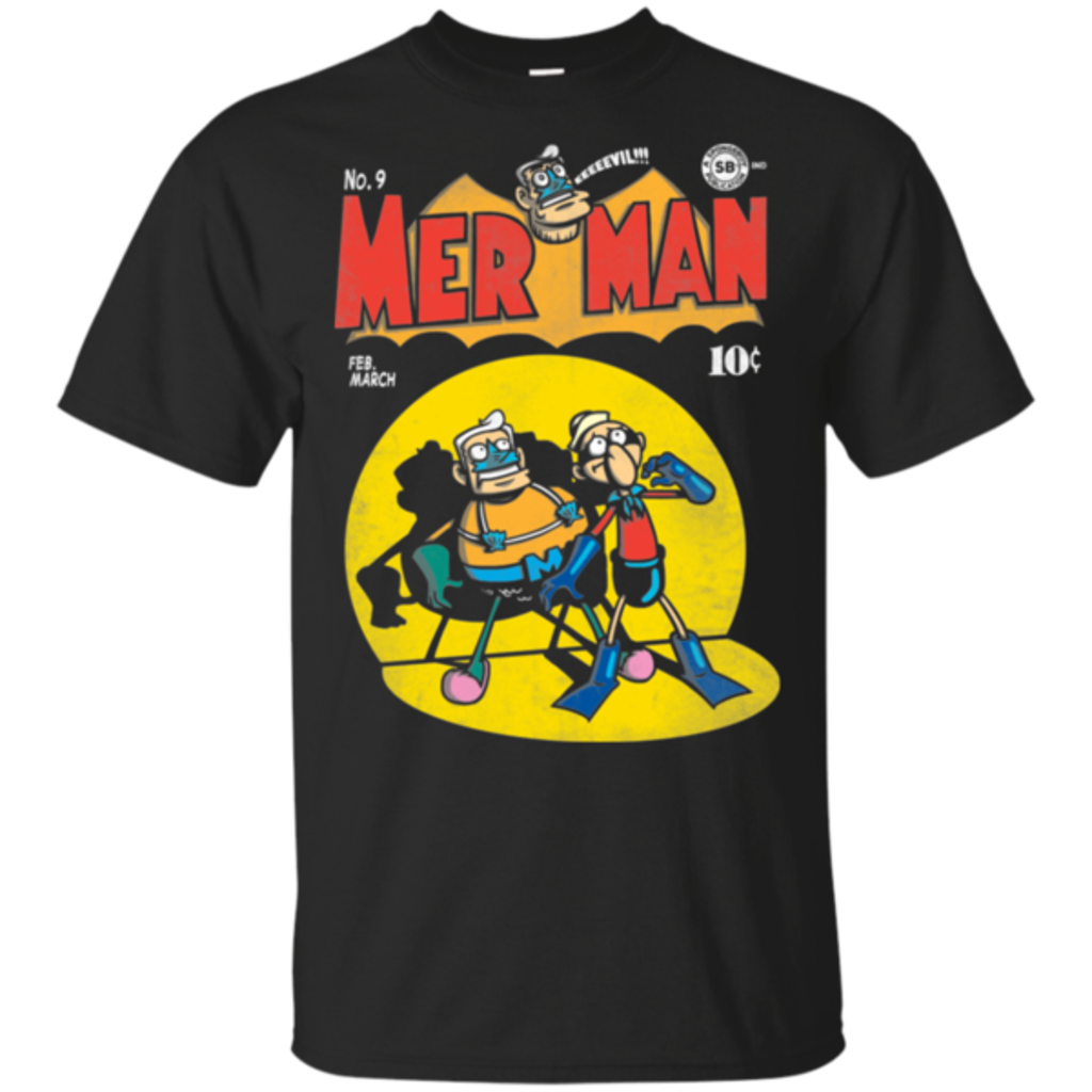 Pop-Up Tee: Mer Man Comic