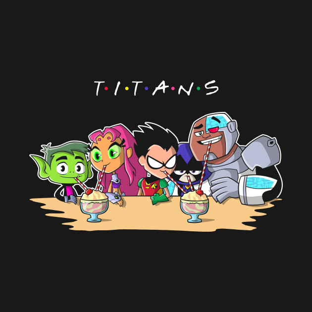 TeePublic: Titan Friends
