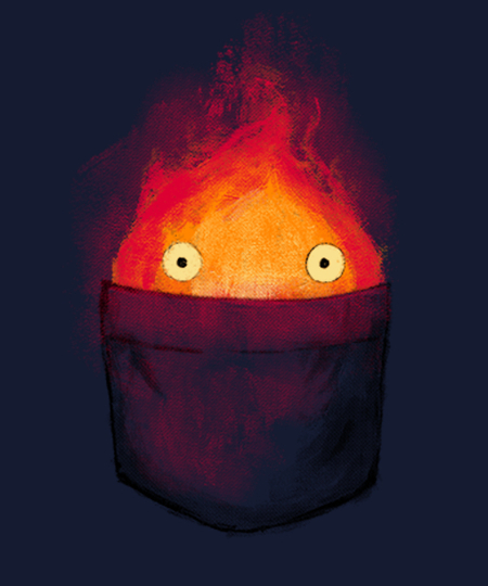 Qwertee: Personal Fire Demon