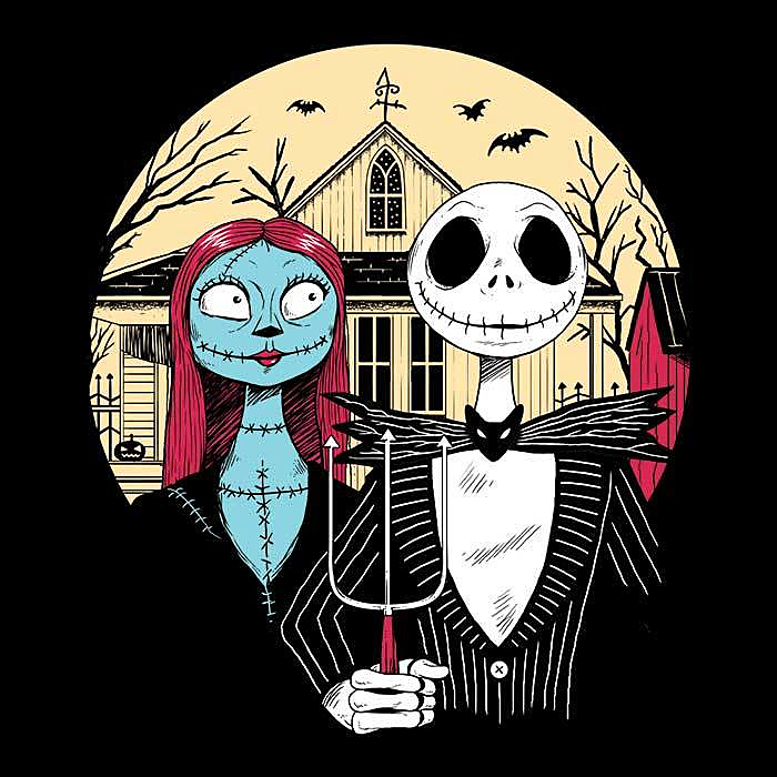 Once Upon a Tee: Nightmare Gothic