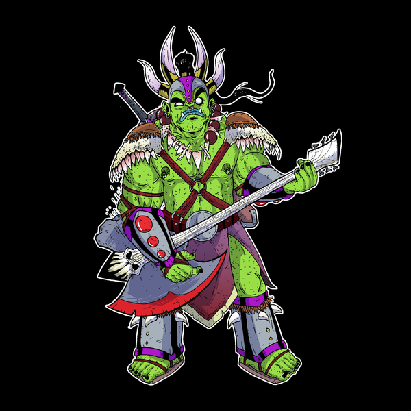 NeatoShop: Orc Metal