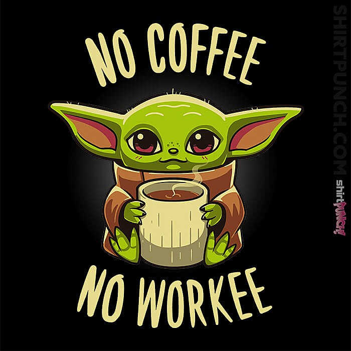 ShirtPunch: Coffee Required