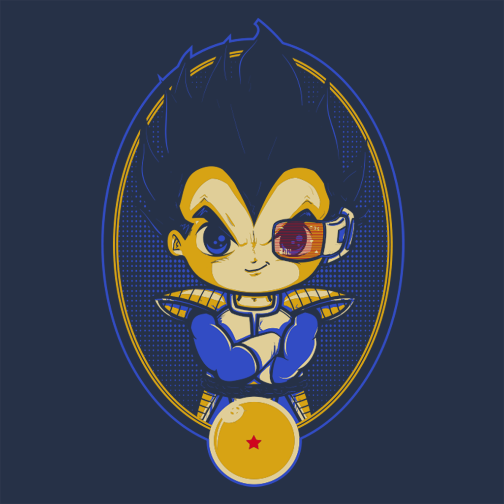Pop-Up Tee: Vegeta Portrait