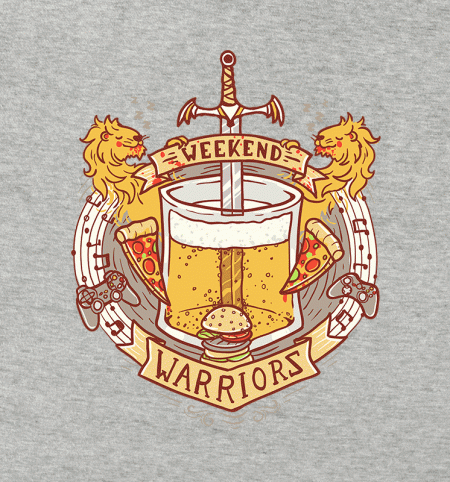 BustedTees: Weekend Warriors