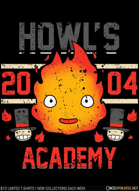 Once Upon a Tee: Howl's Academy