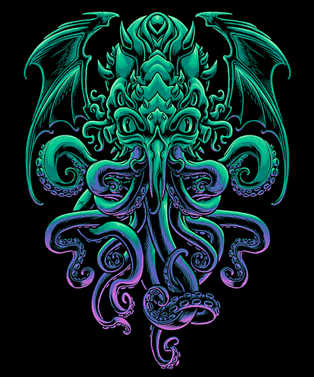 Qwertee: The Old God of R'lyeh