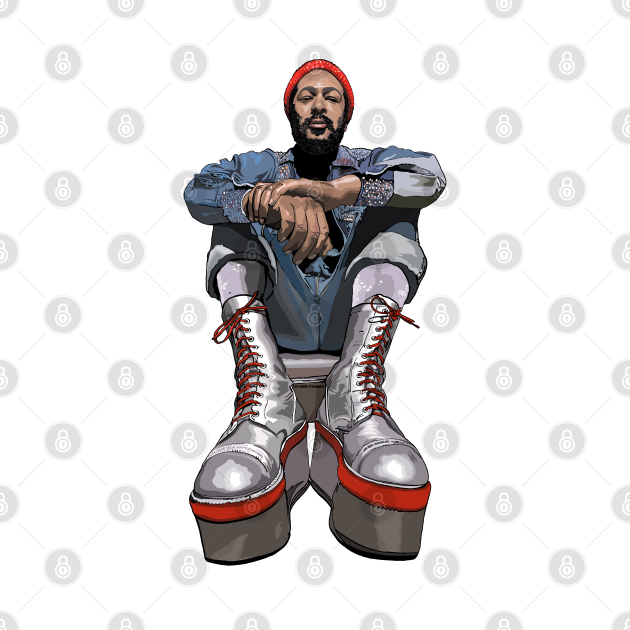 TeePublic: Marvin's Platform Boots