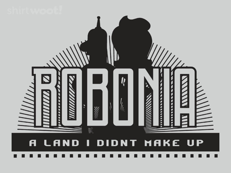 Woot!: Robonia