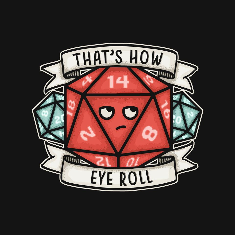 TeeFury: How Eye Roll