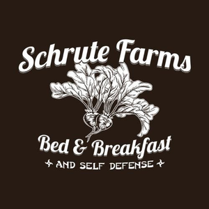 Five Finger Tees: Schrute Farms Bed & Breakfast T-Shirt