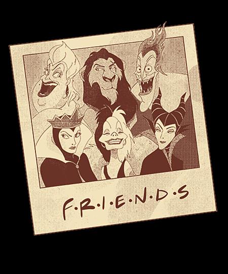 Qwertee: Friends