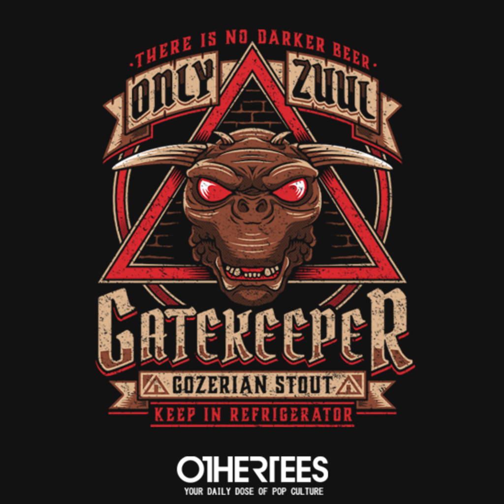 OtherTees: Gatekeeper Gozerian Stout