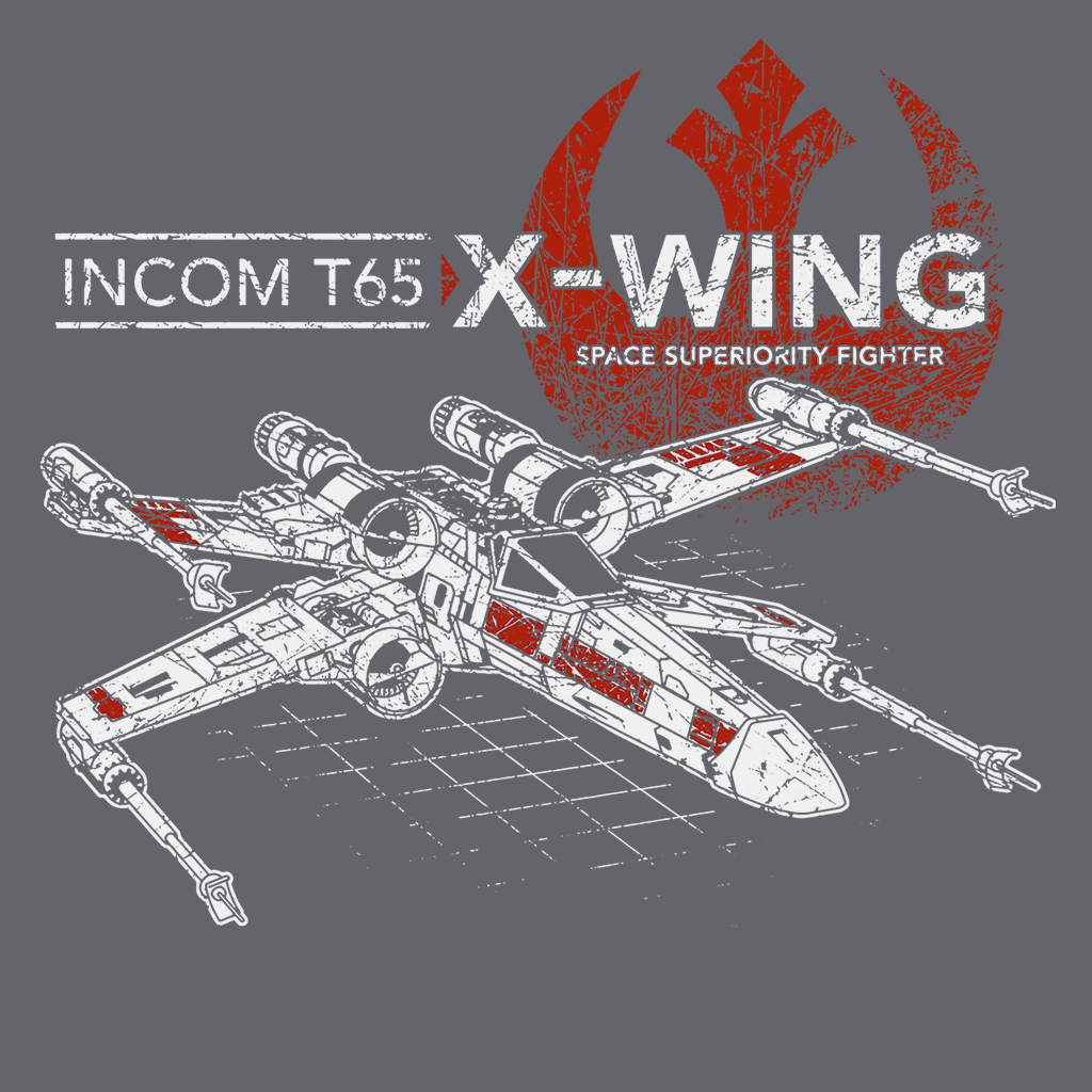 Pop-Up Tee: T 65 X-Wing