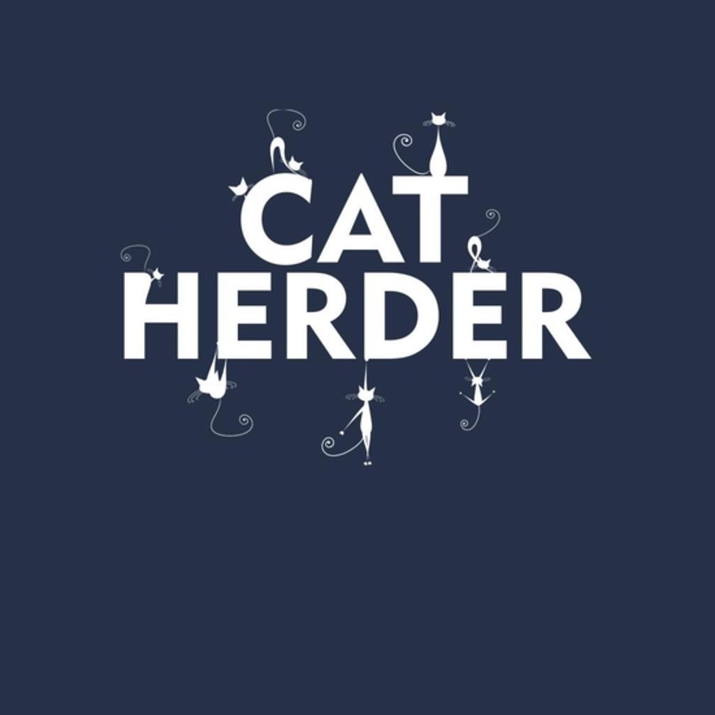 BustedTees: Cat Herder