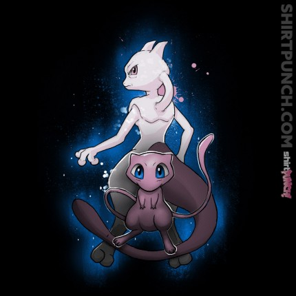 ShirtPunch: Mew & Mewtwo