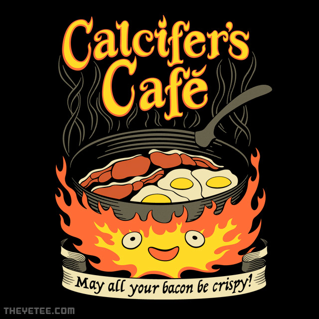 The Yetee: Calcifer's Cafe