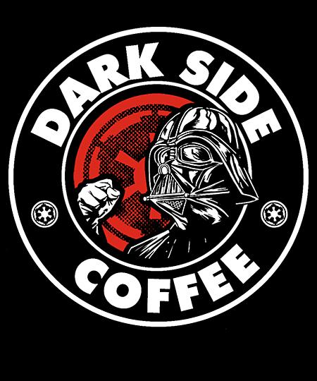 Qwertee: Dark Side Coffee