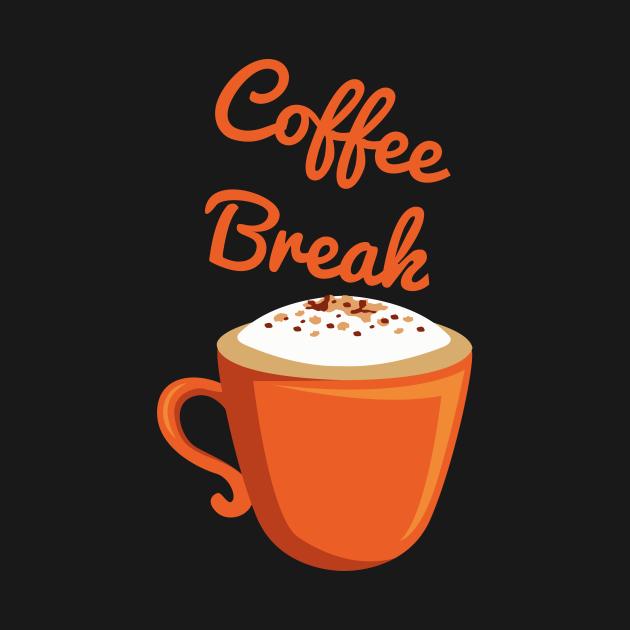 TeePublic: coffe break