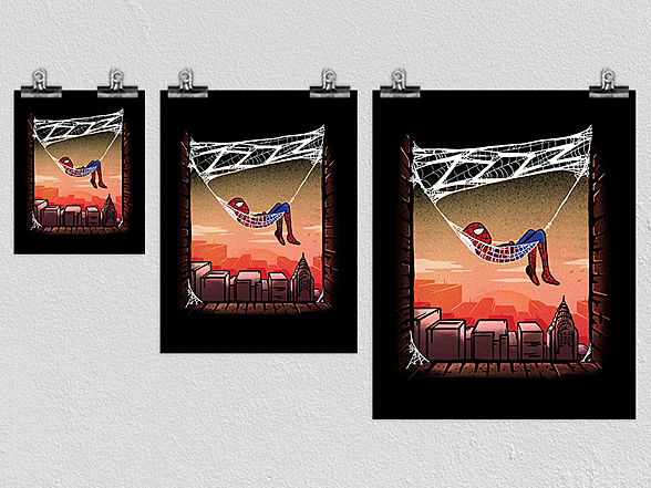 Woot!: The Amazing Spider-Naps Poster