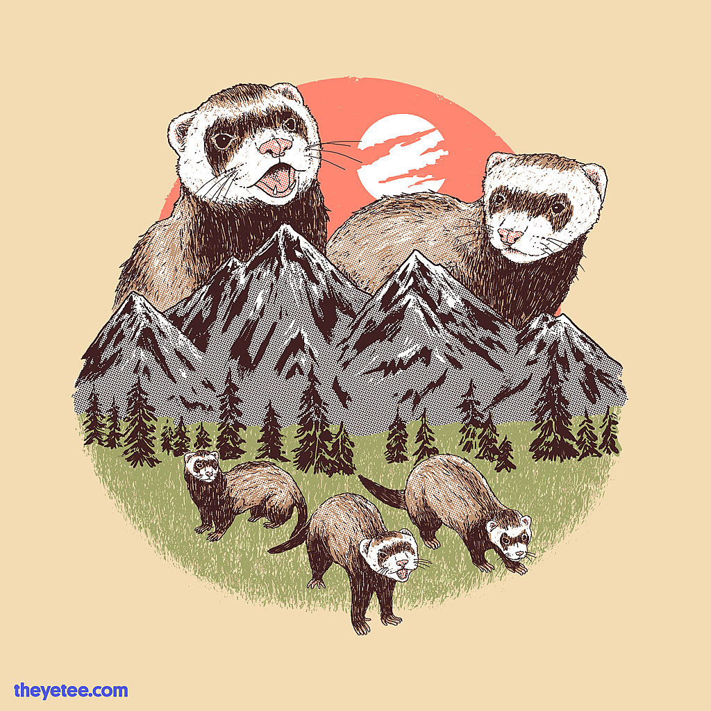 The Yetee: Mountain Ferrets