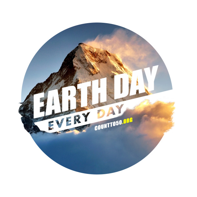TeePublic: Earth Day Every Day (Mountain)