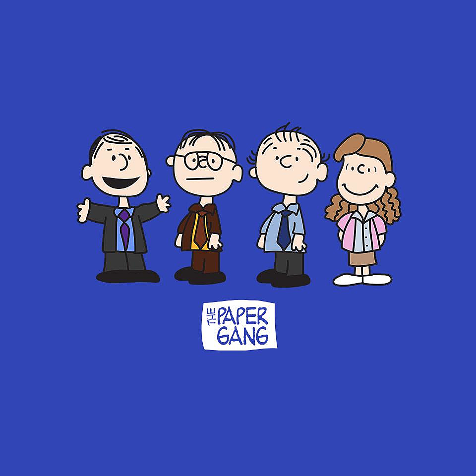 TeeFury: The Paper Gang