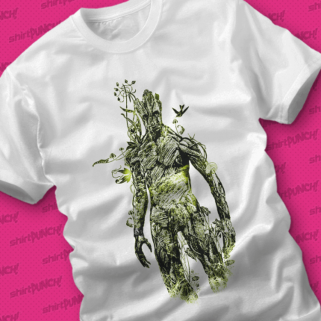 ShirtPunch: Floral Groot
