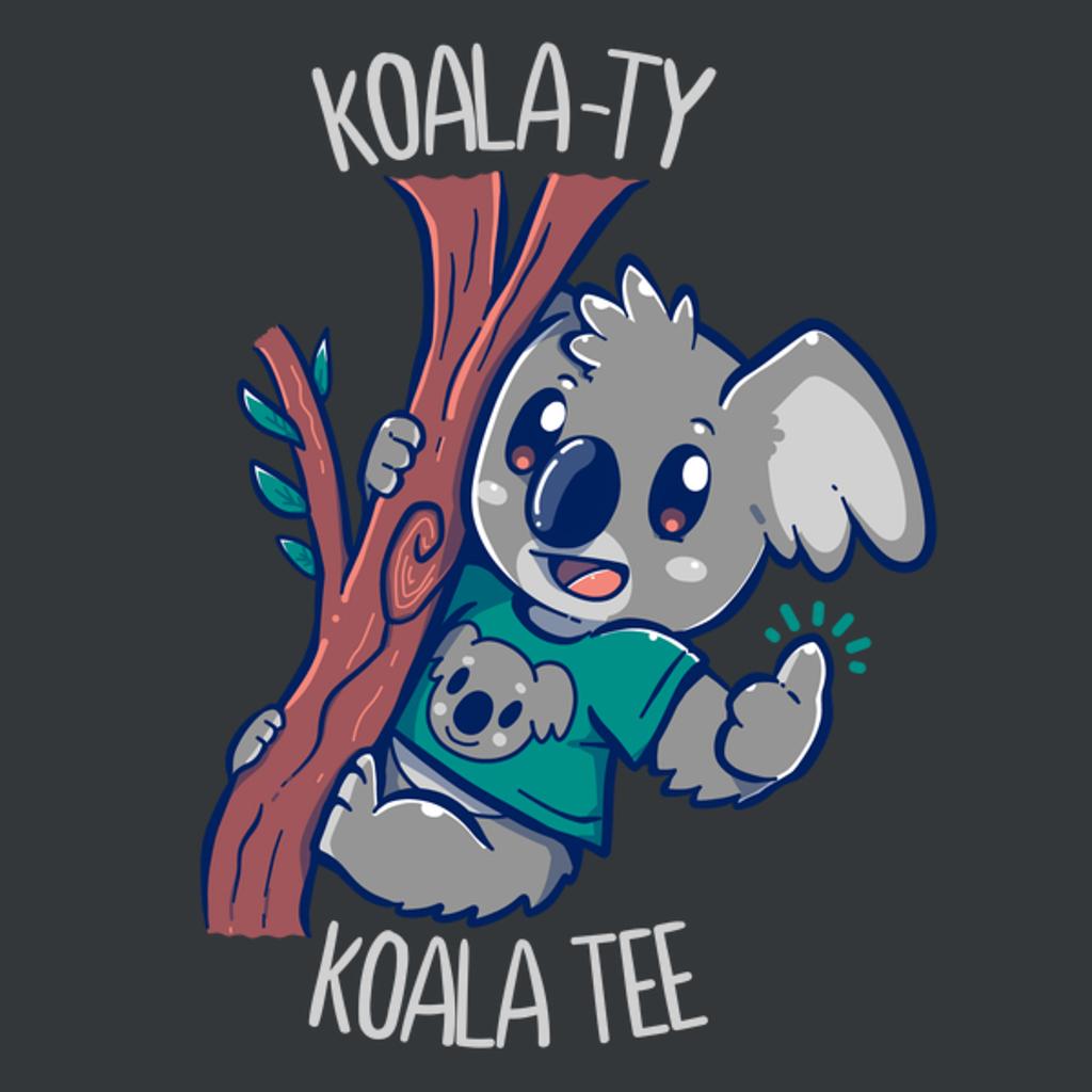 NeatoShop: Koala-ty KOALA Tee
