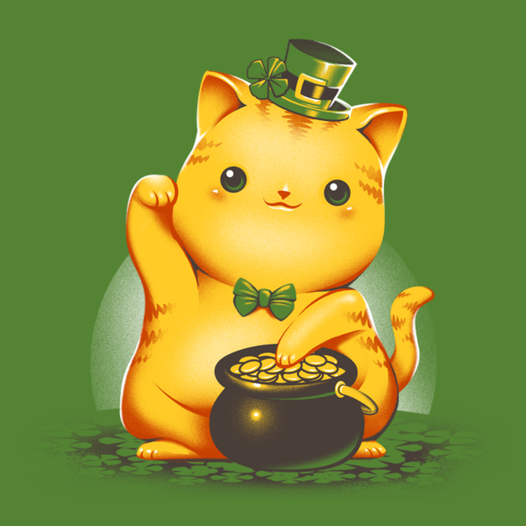 NeatoShop: Irish Lucky Cat