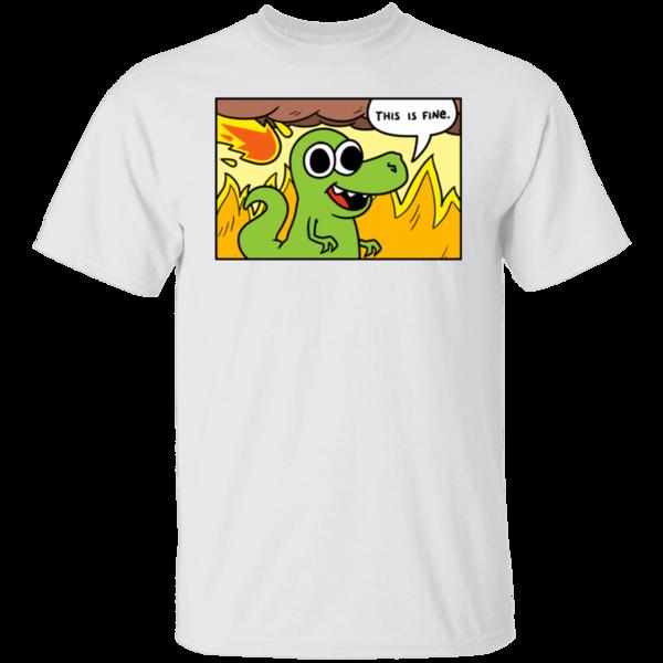 Pop-Up Tee: Dinoptimistic