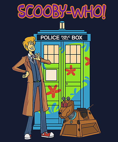 Qwertee: Scooby-Who!