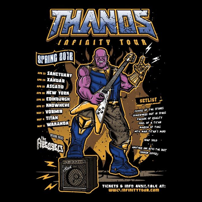 Once Upon a Tee: Infinity Tour