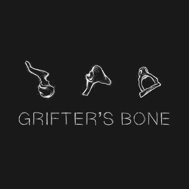 TeePublic: Grifters Bone - Light Logo