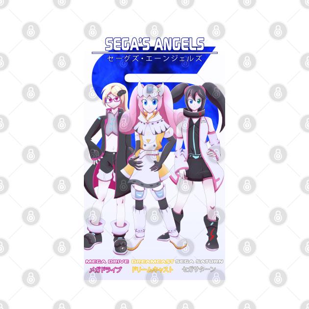 TeePublic: Sega's Angels
