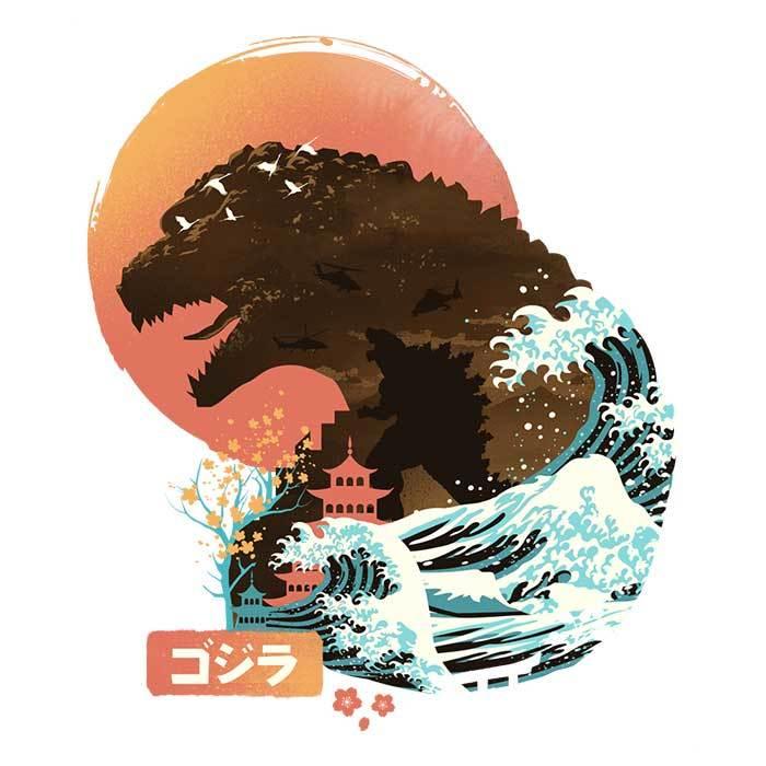 Once Upon a Tee: Ukiyo Kaiju
