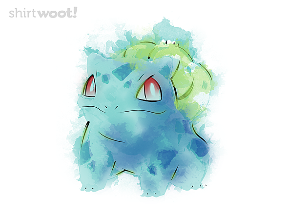 Woot!: Grass Poison Watercolor