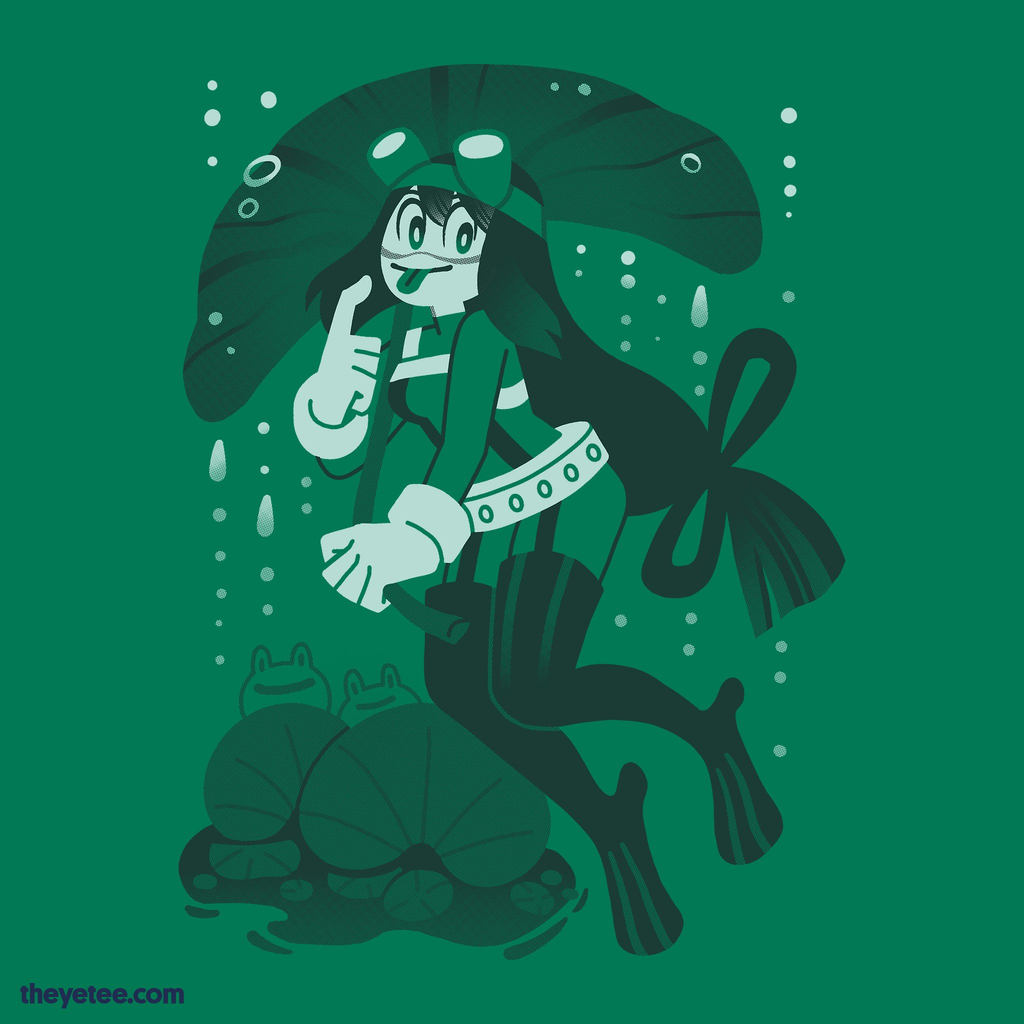 The Yetee: Froggy Froggy Day